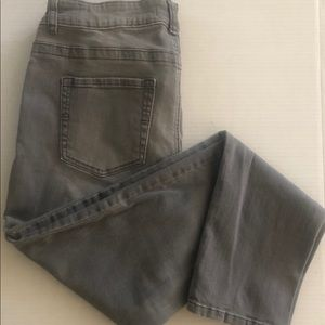 Lee Platinum Label Gray leggings 12/medium